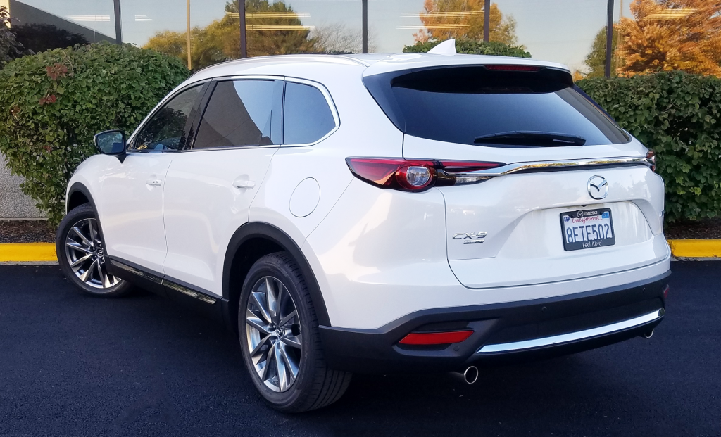 2019 Mazda CX-9 in Snowflake White