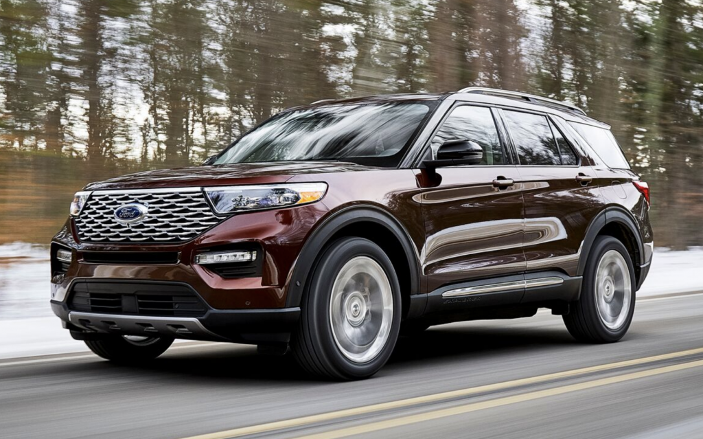 2019 Detroit Auto Show 2020 Ford Explorer The Daily