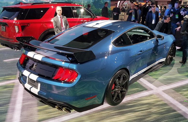 2019 Detroit Auto Show: 2020 Ford Mustang Shelby GT500 ...