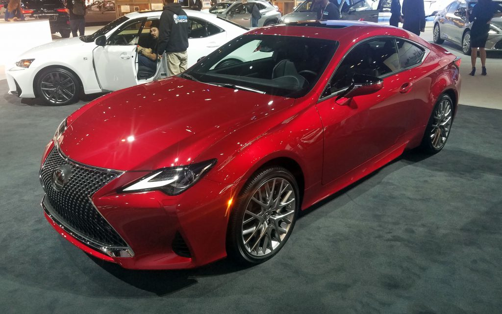Dealer Daily Lexus >> Local Color: Unusual Paint Hues at the 2019 Chicago Auto ...