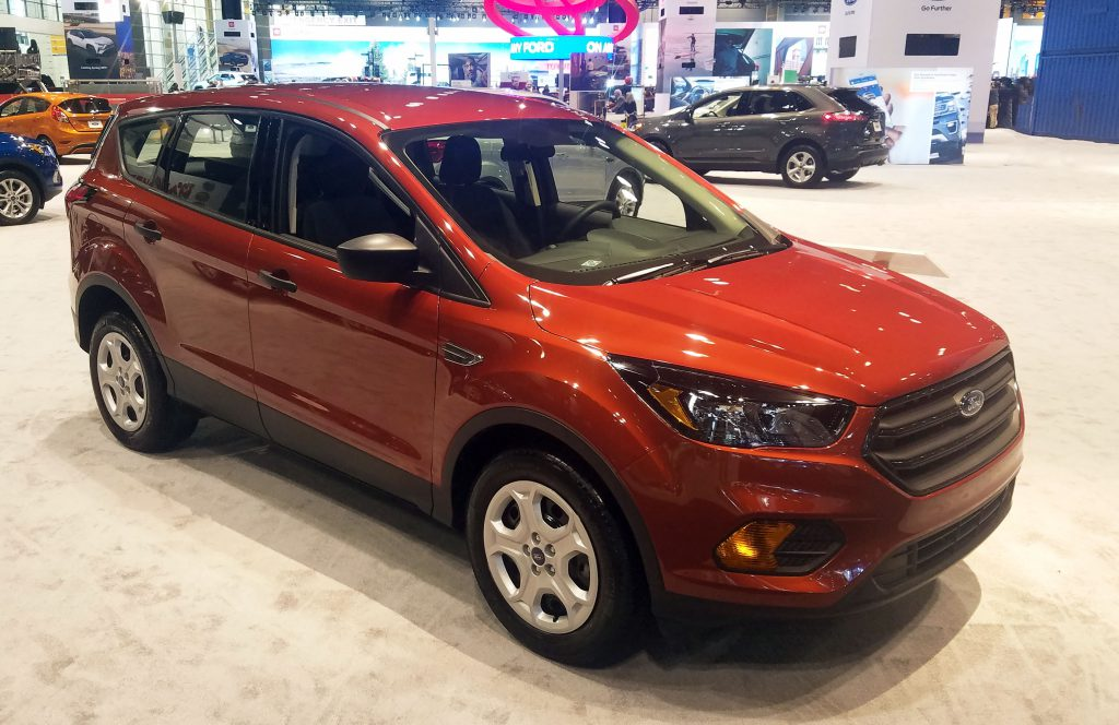 Ford Escape Colors >> Local Color: Unusual Paint Hues at the 2019 Chicago Auto ...
