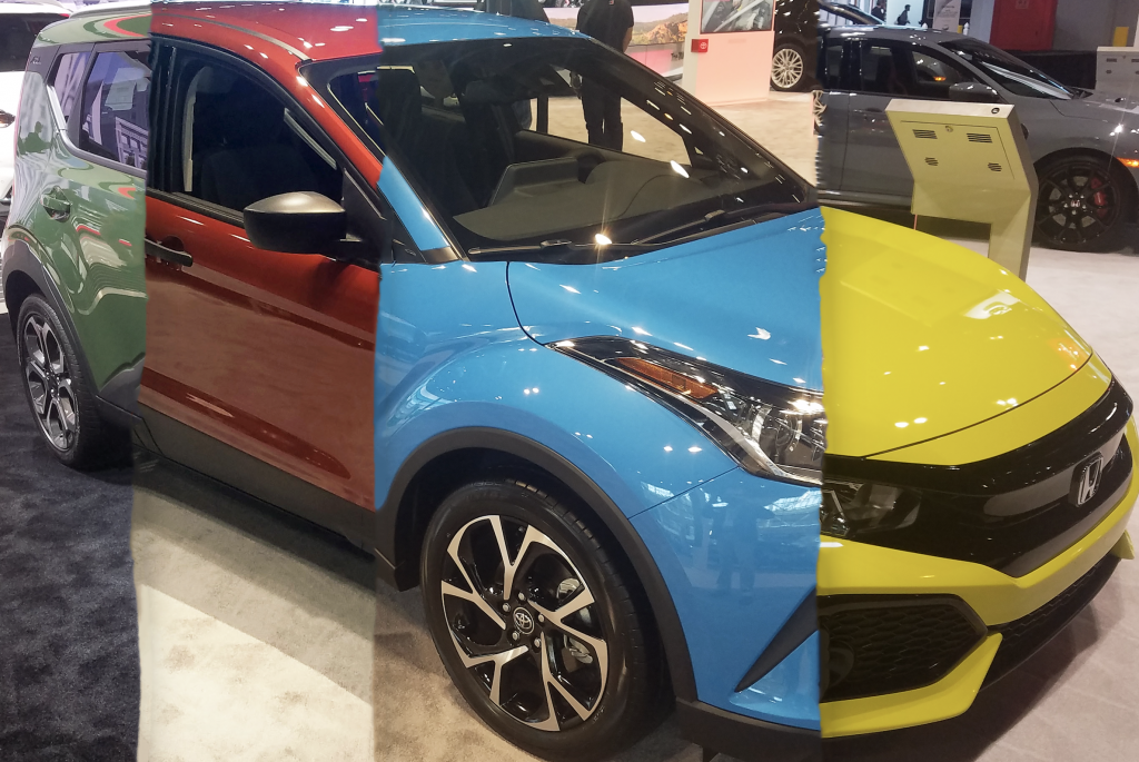 Local Color: Unusual Paint Hues at the 2018 Chicago Auto Show