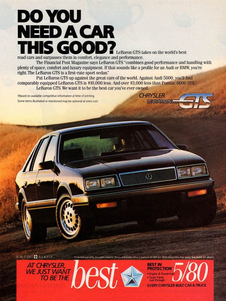 1986 Chrysler