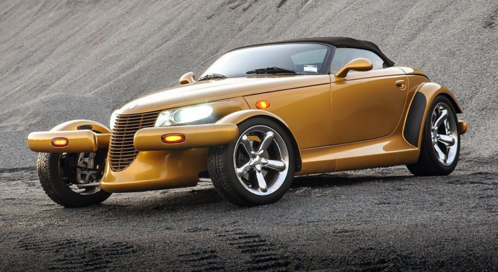2002 Chrysler Prowler, Inca Gold