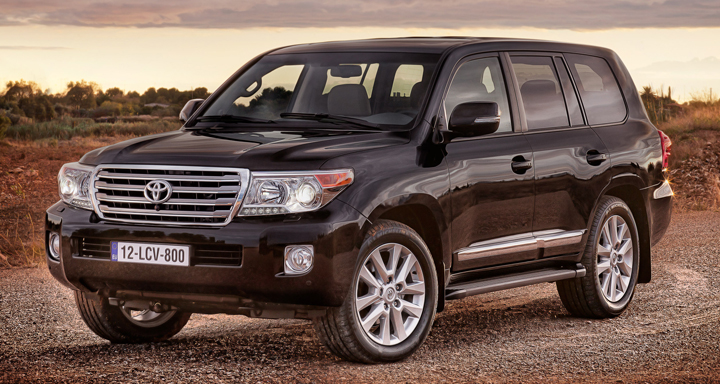 2013 Toyota Land Cruiser (European model pictured)