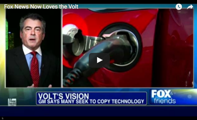 Fox News and the Chevrolet Volt