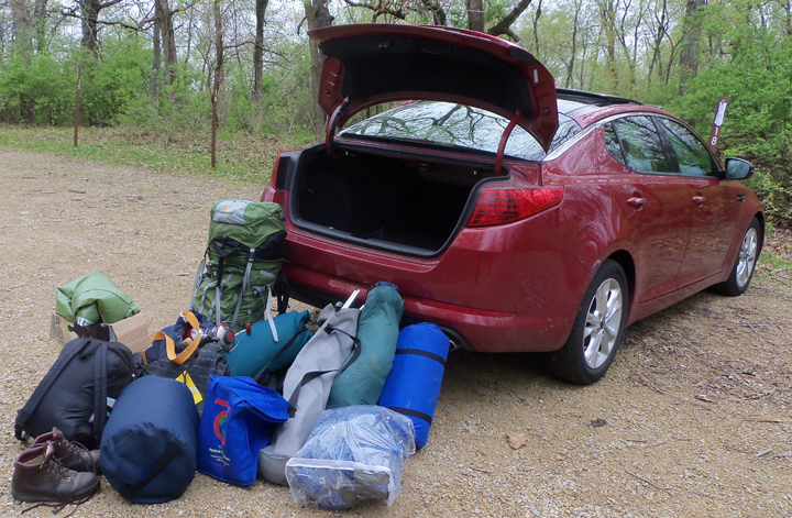 2011 Kia Optima, How to Pack a Car