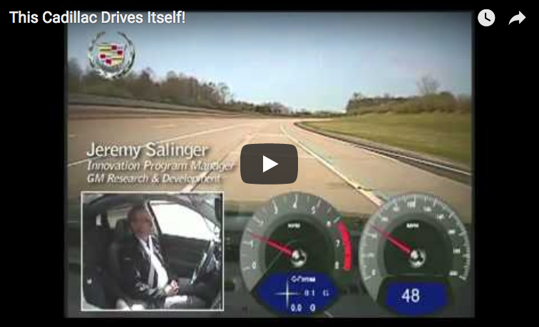 Cadillac Super Cruise Video