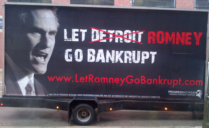 Mitt Romney and the Auto Bailout