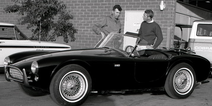 50-Year Flashback: Shelby Cobra and Steve McQueen | The