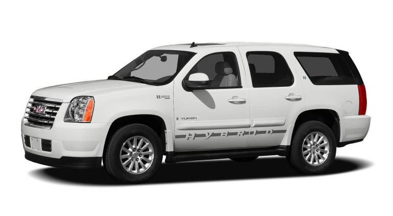 GMC Yukon Hybrid, 2012 Hybrid Vehicles