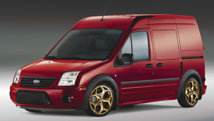 A PhotoShopped Ford Transit Connect, Transit Connect Mods