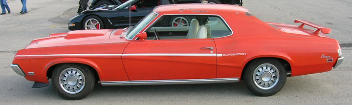 1969 Mercury Cougar Eliminator side view