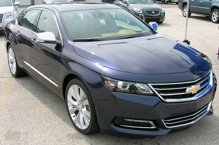 2014 Chevrolet Impala (front), Impala Walk Around