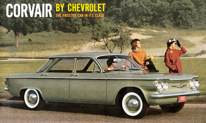 1960 Chevrolet Corvair Ad
