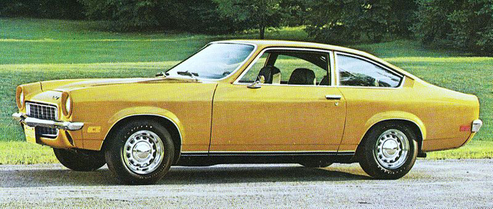 1971 Chevrolet Vega Coupe, Good Looking Regular Cars