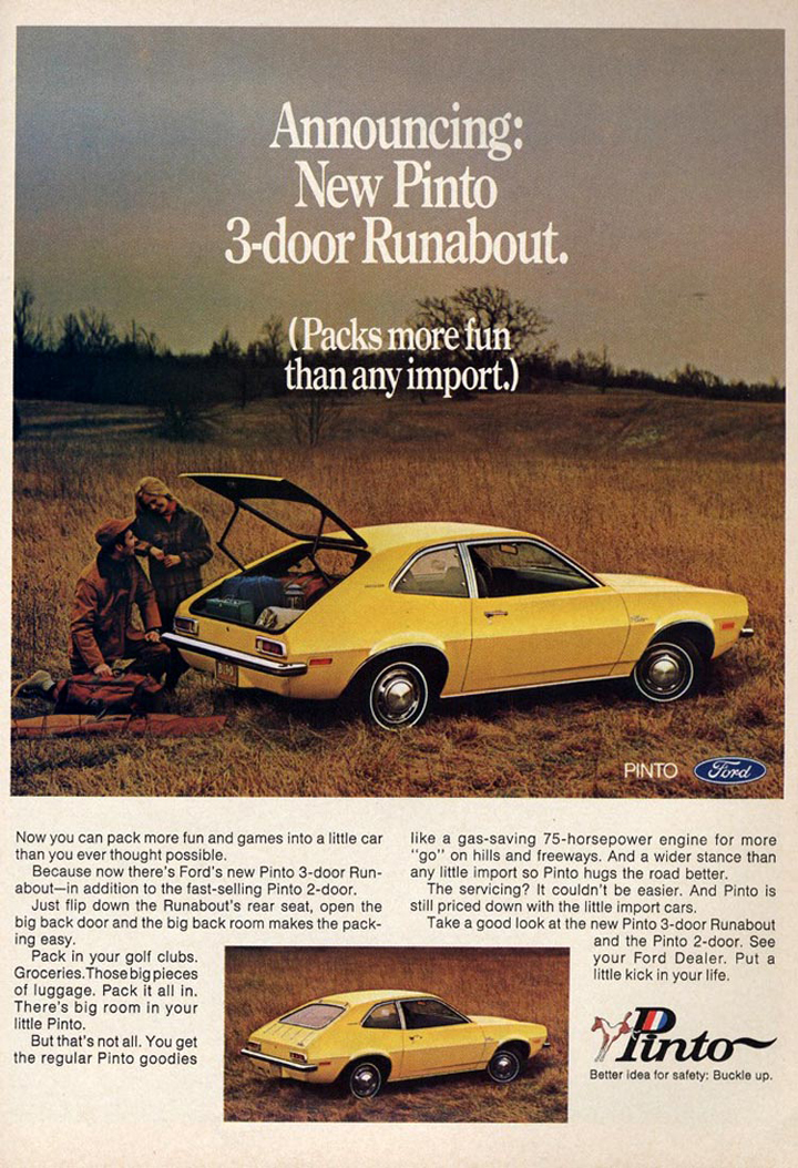 1971 Ford Pinto add full