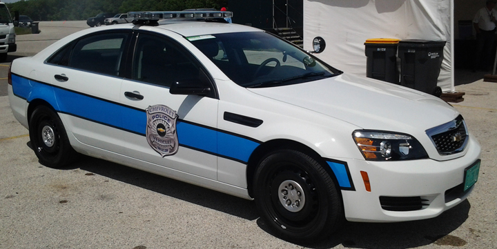2013 Chevrolet Caprice PPV, front
