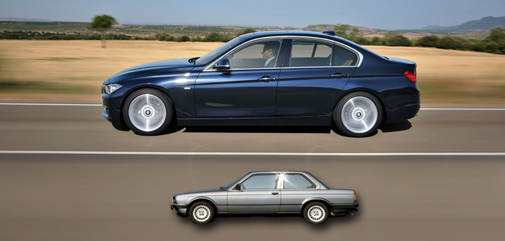 3-Series Size Increase