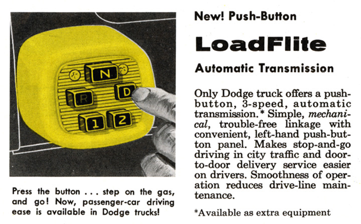 LoadFlite, New TorqueFlite