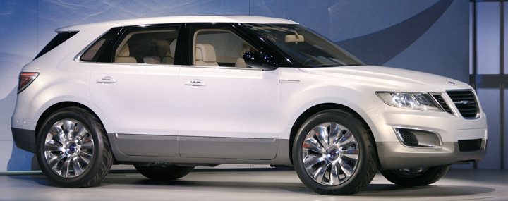 2008 concept version of the Saab 9-4X