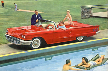 1960 Ford Thunderbird ad