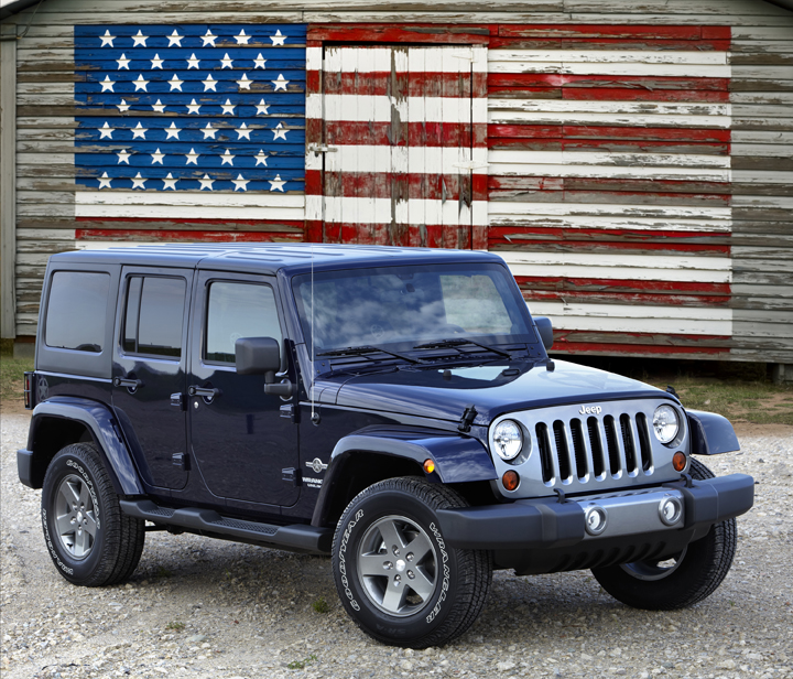 2012 Jeep Wrangler Unlimited Freedom Edition