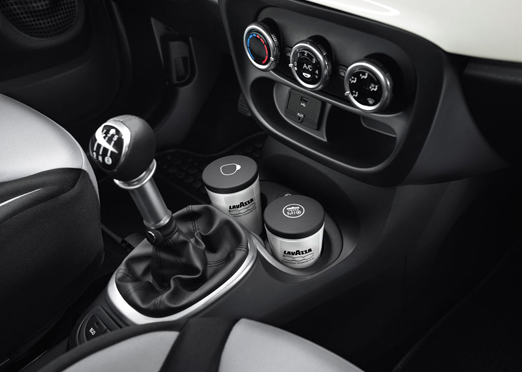 Fiat 500L espresso mugs, In-Car Coffee Maker