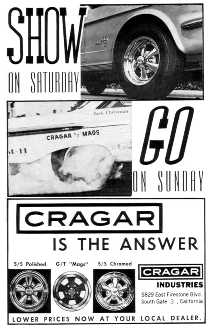 A Cragar S/S advertisement from 1966