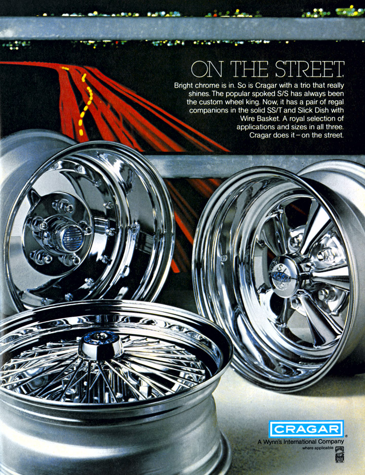 Muscle Car Rims >> Cragar S/S: The Kleenex of Retro Custom Wheels | The Daily ...