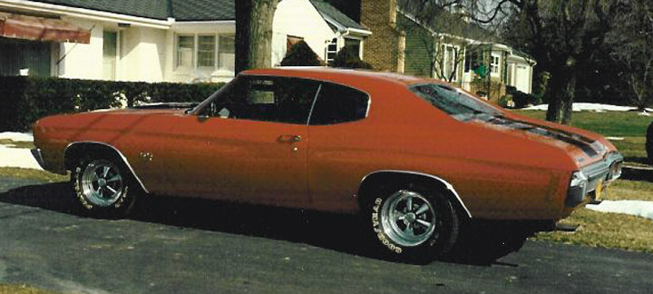 Cragar S/S wheels on a 1970 Chevrolet Chevelle SS