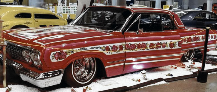 """Gypsy Rose"" 1963 Chevrolet Impala"