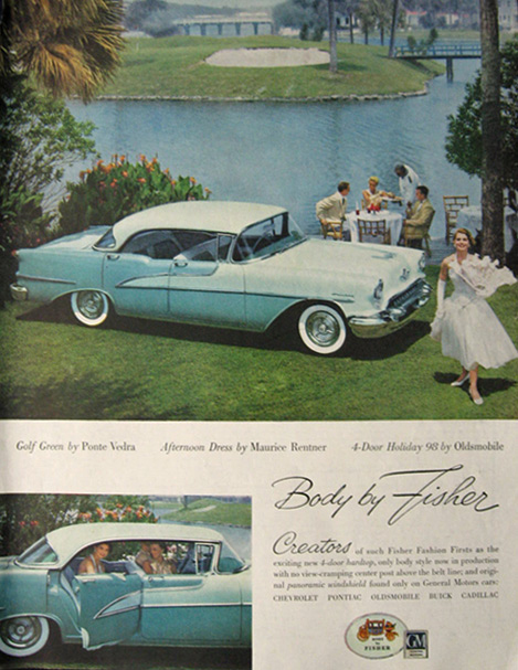 Oldsmobile Holiday 98 ad