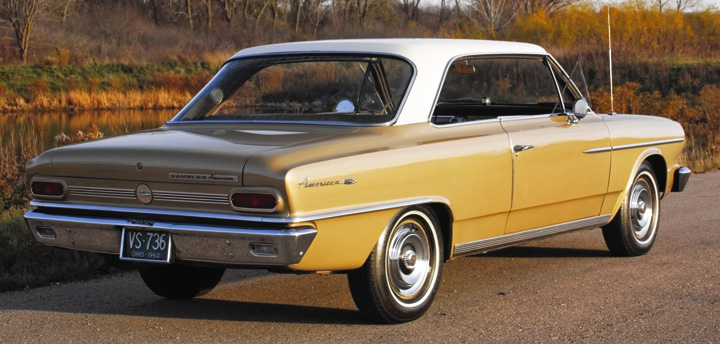 Photo Feature 1964 Rambler American 440h Hardtop Coupe