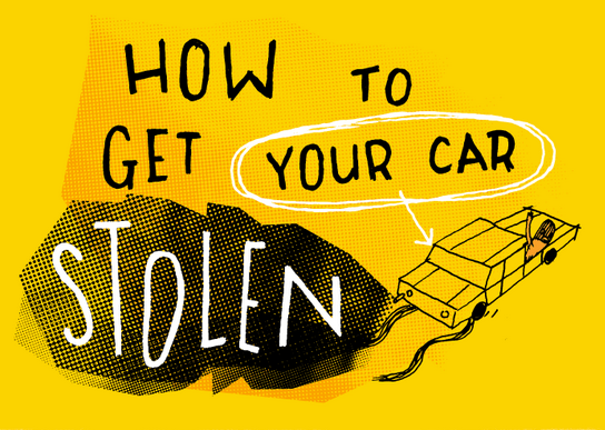 How to steal a car, How Cars are Stolen