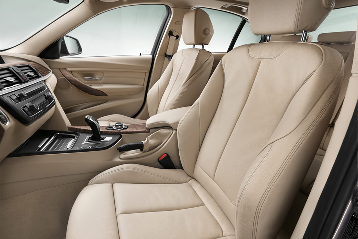 front seats, BMW 3-Series And Cadillac ATS