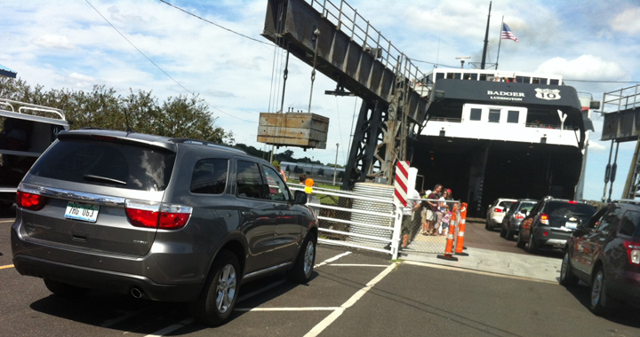 Lake Michigan boat ride, car ferry, SS Badger