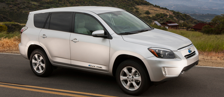 The Toyota Rav4 Ev Is Embled With Help From Tesla