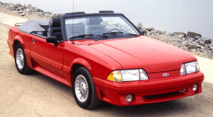 1987 Ford Mustang convertible, Newly Classic Convertibles