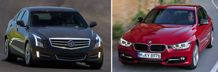 BMW and Cadillac Prices