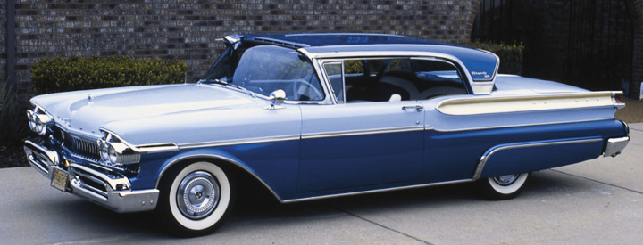 2-door hardtop, 1957 Mercury Turnpike Cruiser