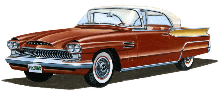 What If S P Gm Chrysler Or Amc Had Designed The 1957