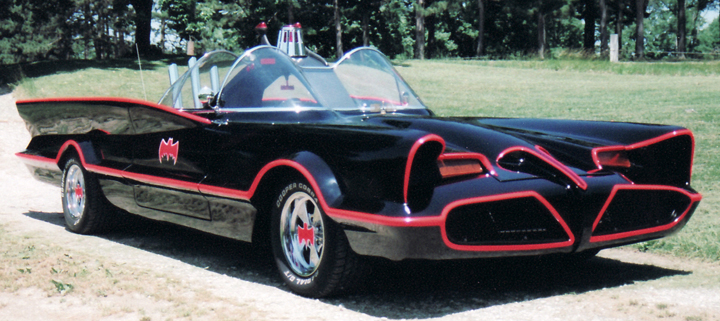 What was the Batmobile?