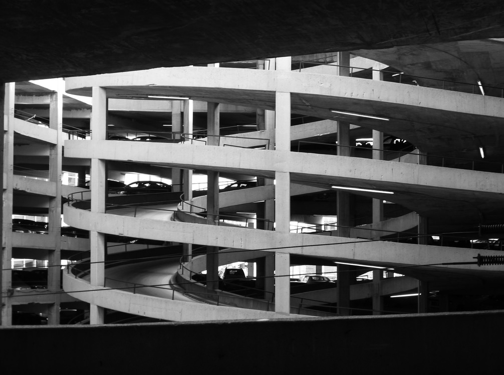 Parking Garage Corkscrew