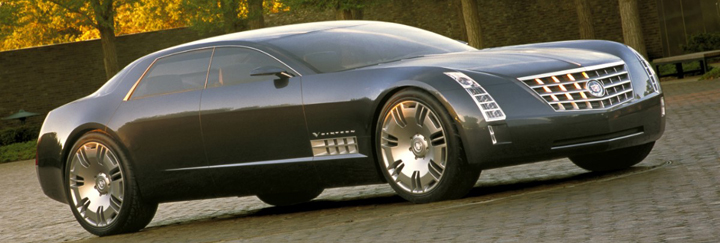 Psychedelic 16 Cadillac S Multi Cylinder Concepts Of The
