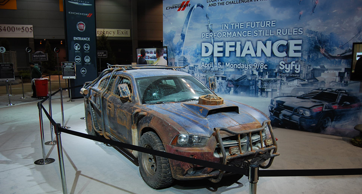 "SyFy network TV show ""Defiance"", Defiance Dodge Charger"