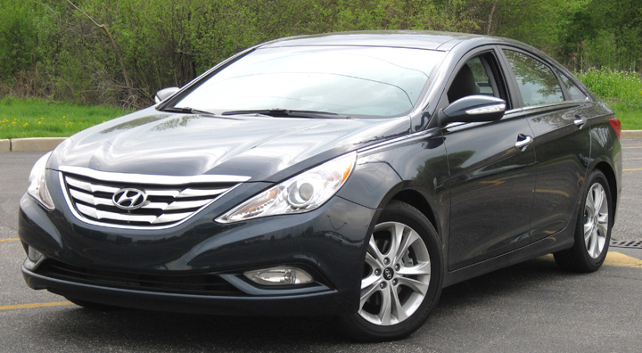 The Sonata Limited Comes Standard With 17 Inch Wheels