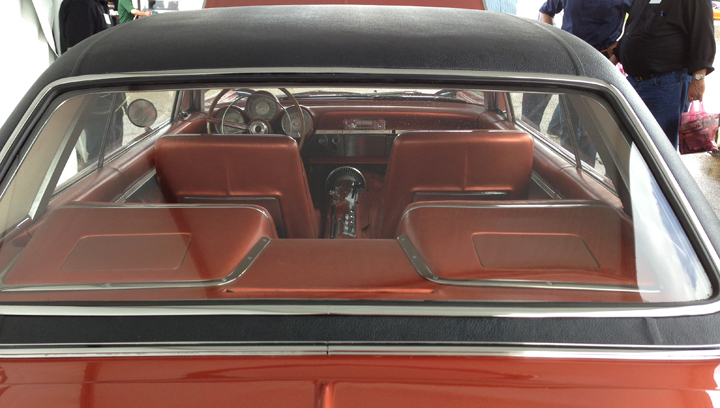 Chrysler Turbine Car (rear view)