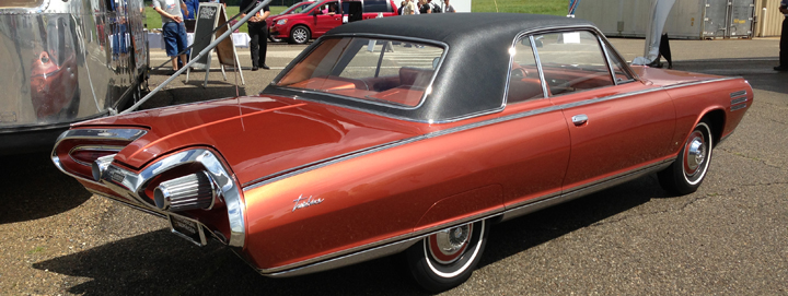 Chrysler Turbine Car (rear 3/4 view)
