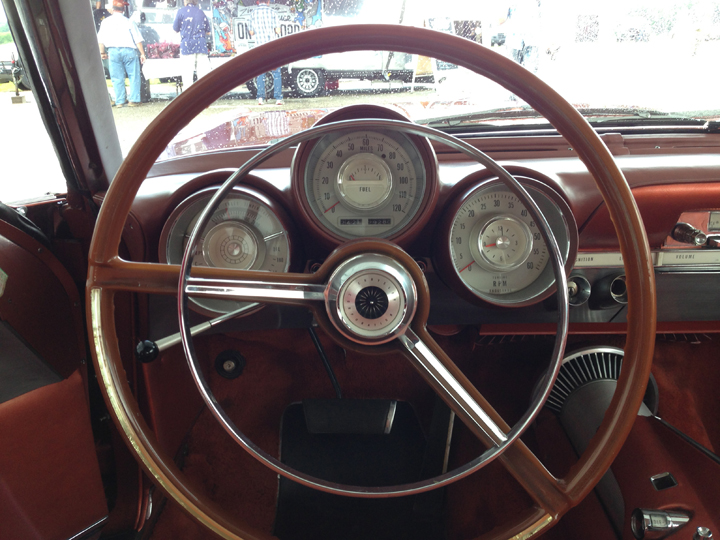 Chrysler Turbine Car (instrument panel)